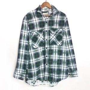 Fieldmaster Perma-Prest Men's Winter Fall Flannel